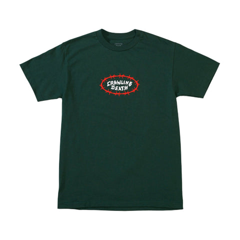 Barbed Wire Ellipse Tee - Green
