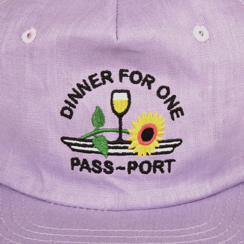 Dinner For One 5 Panel - Lavender
