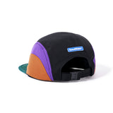 Crescent Camp Hat - Forest / Purple / Brown