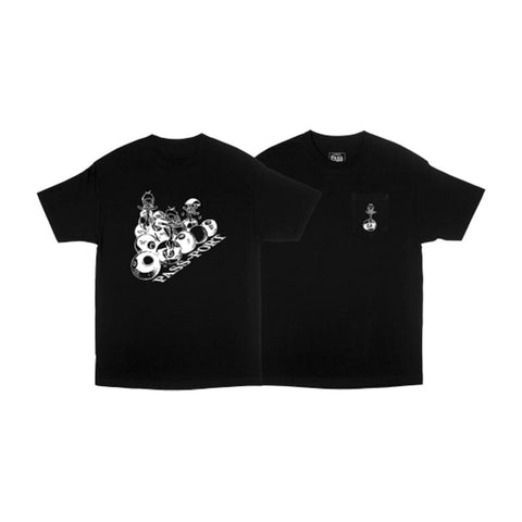 Ducks In A Row Tee - Black