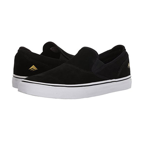 Wino G6 Slip On - Black/White/Gold