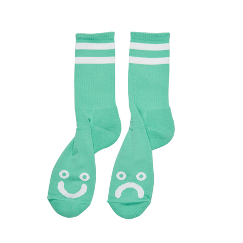 Happy Sad Socks - Mint
