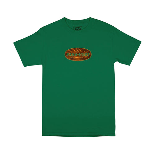 Inlay Tee - Kelly Green
