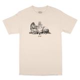 K. W Tribute Tee - Cream