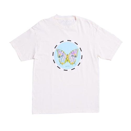 Moth Tee - Cream - Hemley Skateboarding