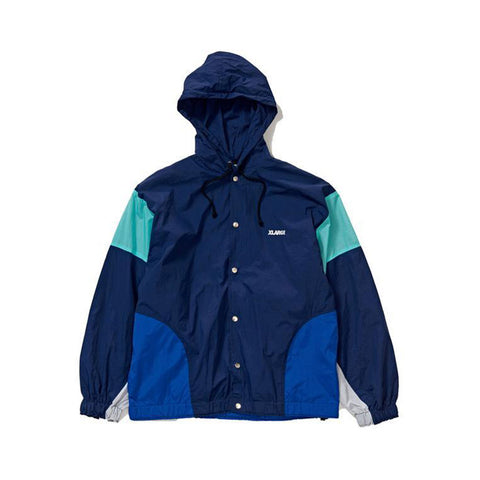 Nylon Team Jacket - Navy