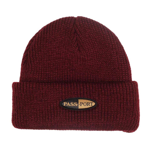 Pharmy Patch Beanie - Burgundy