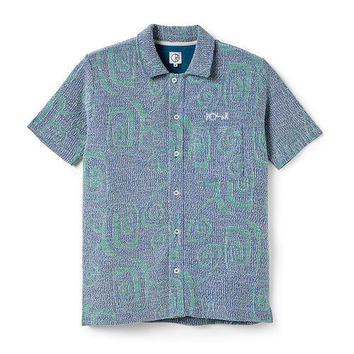 Patterned Shirt - Blue