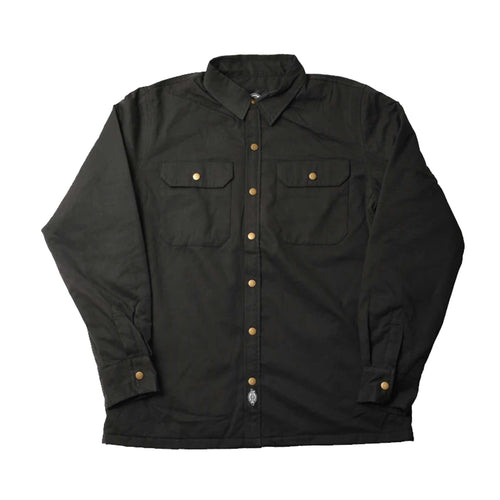 Pawnee - Quilted Lined Shirt Jacket - Black