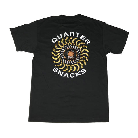 Spitfire x Quartersnacks Tee - Black