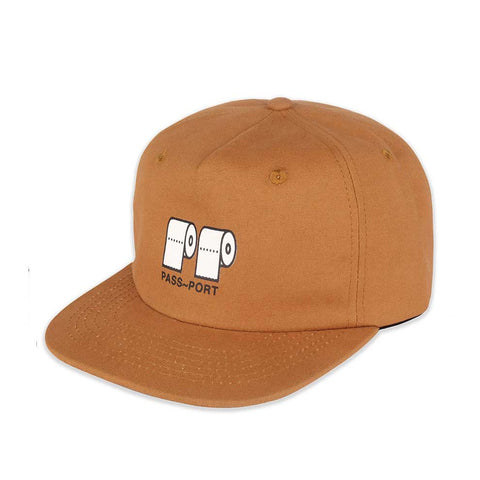 Poo Poo 5 Panel - Brown