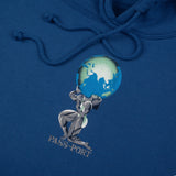 World Power Hood - Royal Blue