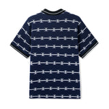 Razor Zip Polo - Navy