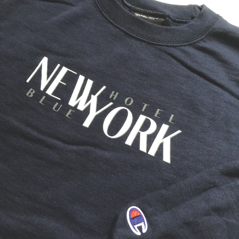 New York Champion Crew - Navy