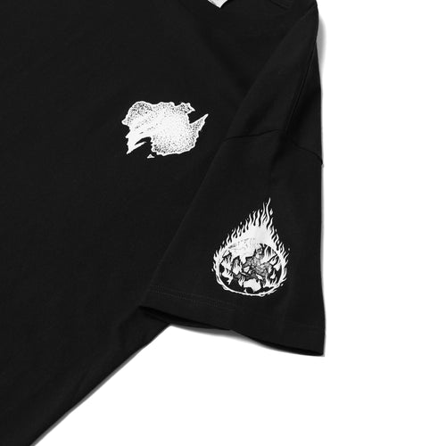 Fire Earth Tee - Black
