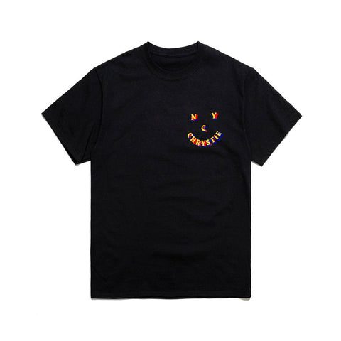 3D Smile Logo T-shirt - Black - Hemley Skateboarding