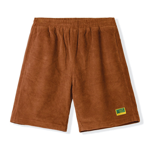 Tilt Corduroy Shorts - Brown