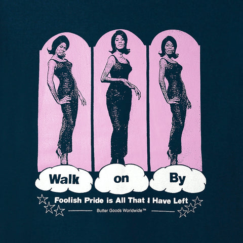 Walk On By Tee - Navy