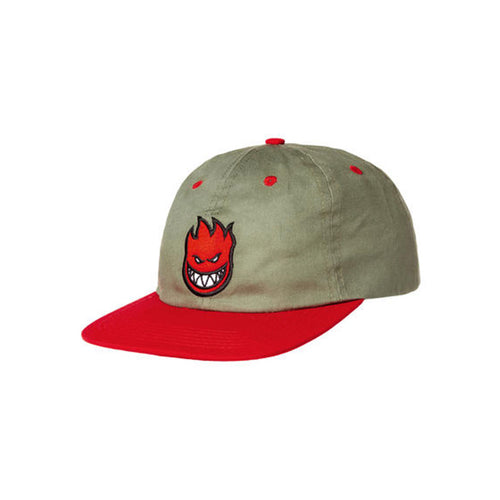 Adjustable Bighead Fill Cap - Khaki/Red