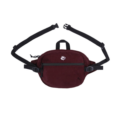 Banana Cord Bag - Burgundy