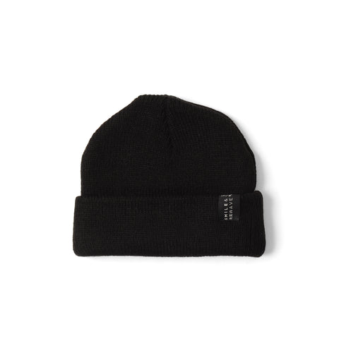 Smile and Wave - Basic Beanie - Black