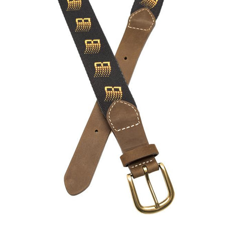B Logo Belt - Black - Hemley Skateboarding