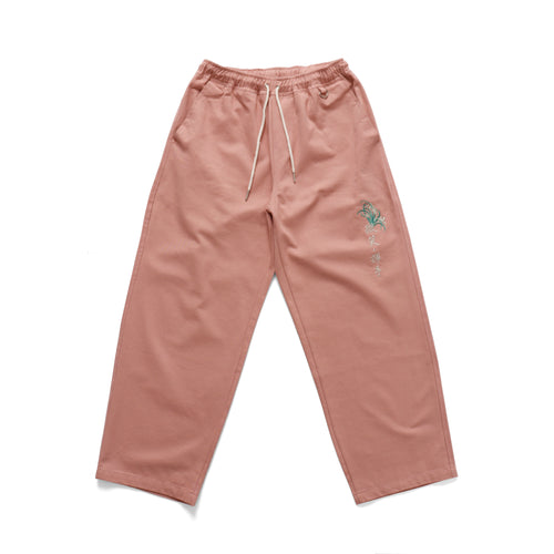 Bouqet Baggy Pant - Dusty Pink