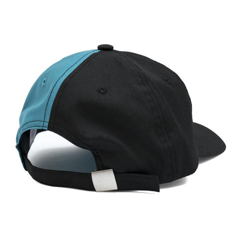 Bronze Technologies Cap- Black/Teal - Hemley Skateboarding