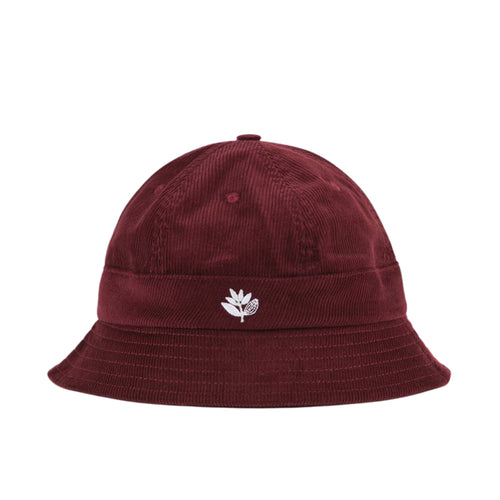 Bucket Hat Cord - Burgundy