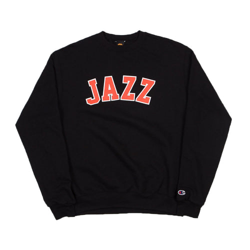 Jazz Champion Crewneck - Black - Hemley Skateboarding