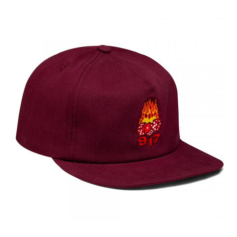 Hot Dice Hat - Maroon