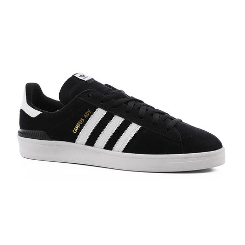 Campus ADV - Black/White/White - Hemley Skateboarding