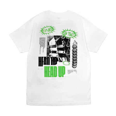 Head Up Tee - White