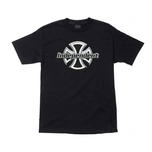 Chrome Front Tee - Black
