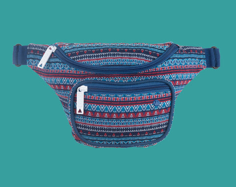 T-Funk Deluxe Hip Pack - Blue