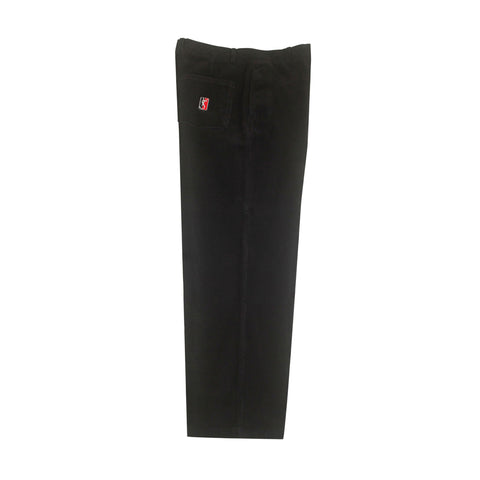 Corduroy Slacks - Black/White