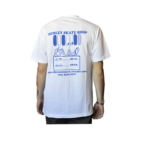 Hemley Counter Tee - White