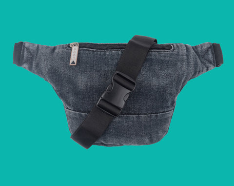 Dazed Deluxe Hip Pack - Washed Black - Hemley Skateboarding