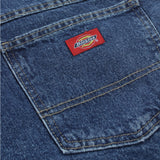 13293 Stonewashed Blue - Relaxed Straight Fit  5-Pocket CarpenterJean