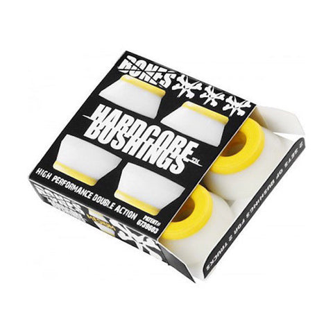 Bones Bushings - White Medium 91A - Hemley Skateboarding