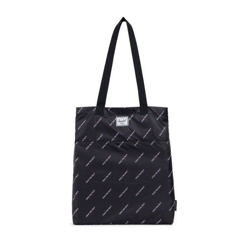 Packable Travel Tote - Black - Hemley Skateboarding