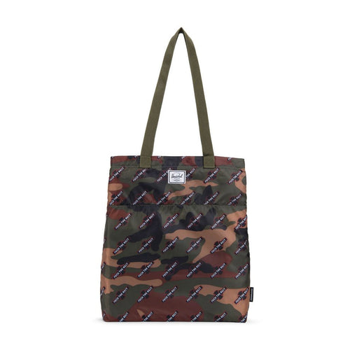 Packable Travel Tote - Camo - Hemley Skateboarding