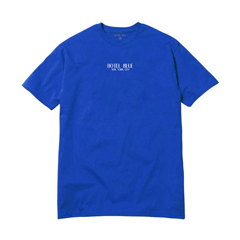 Logo SS Tee - Royal - Hemley Skateboarding