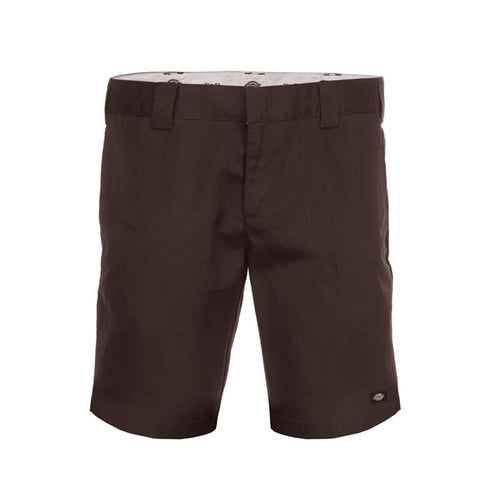 872 Slim Fit Short - Choc - Hemley Skateboarding