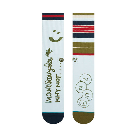 Rugby Socks - Blue - Hemley Skateboarding