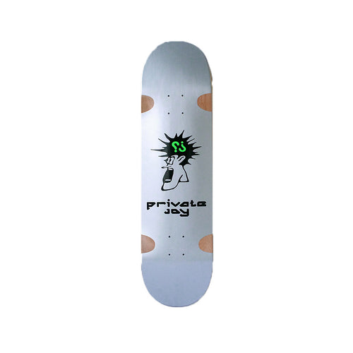 Freak Deck - Silver - Hemley Skateboarding