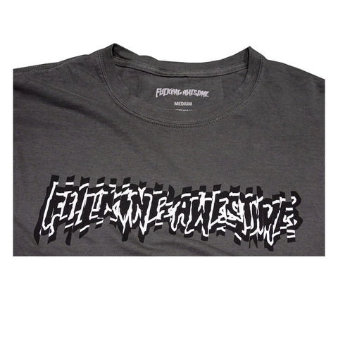 Shockwave Tee - Overdyed Black