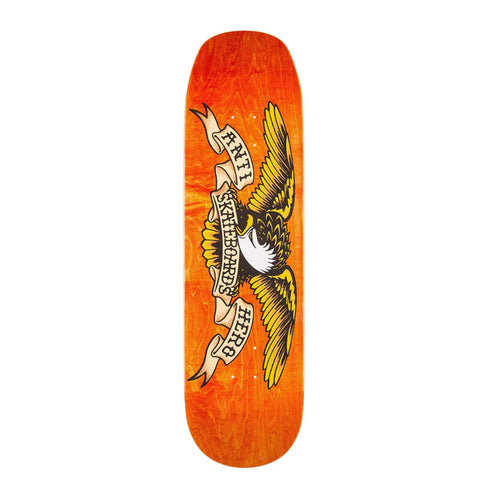 Classic Eagle Shaped Deck - Orange - Hemley Skateboarding