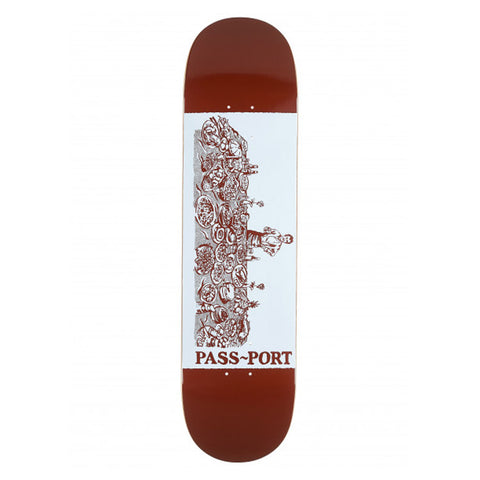 Crack Series Deck - Chefs Best - Hemley Skateboarding