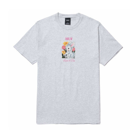Born To Die S/S Tee - Ash